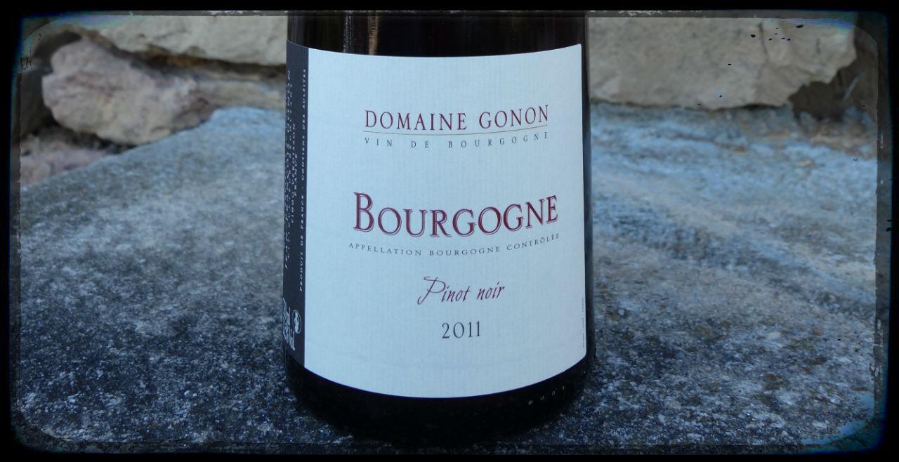 Bourgogne Pinot Noir du Domaine Gonon à Vergisson