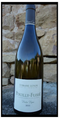 Pouilly Fuissé Vieilles Vignes à Vergisson du Domaine Gonon